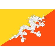 Vlag Bhutan