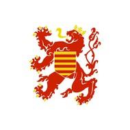 Vlag Belgium Limburg Province flag