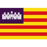 Vlag Balearen vlag