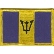 Patch Barbados vlag patch
