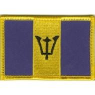 Patch Barbados vlag patch