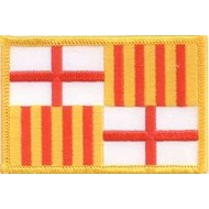 Patch Barcelona vlag