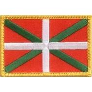 Patch Baskenland Baskische vlag