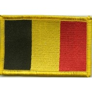 Patch Belgie vlag patch