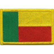 Patch Benin vlag patch