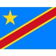 Vlag Congo Kinshasa DR vlag 2006