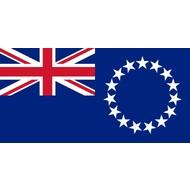Vlag Cook Islands flag
