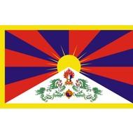 Vlag Tibet