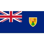 Vlag Turks en Caicoseilanden