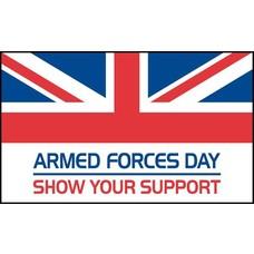 Vlag Armed Forces Day vlag