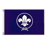 Vlag Blue Scout Padvinder