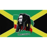Vlag Bob Marley Freedom