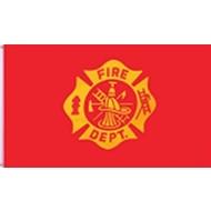 Vlag Fireman Fire Brigade flag