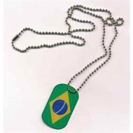 Dog Tag Brazil vlag