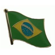 Speldje Brazil flag lapel Pin