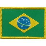 Patch Brazil vlag patch