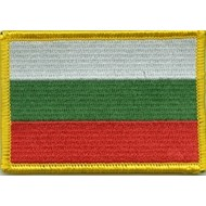 Patch Bulgaria flag patch