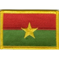 Patch Burkino Faso flag patch