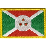 Patch Burundi flag patch