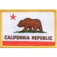 Patch California State Vlag patch