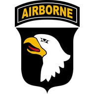 Vlag 101st Airborne flag Band of Brothers USA