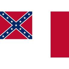 Vlag 3rd Confederate 4 maart 1865