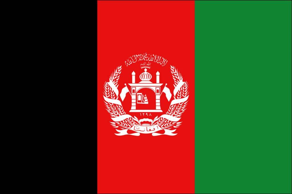 Afghanistan And Usa Flag
