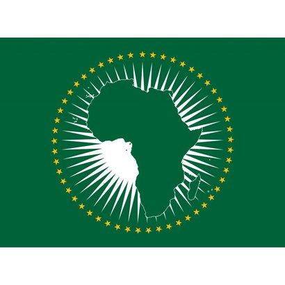 Vlag Afrikaanse Unie vlag