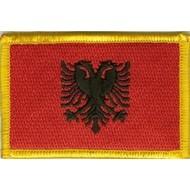 Patch Albania vlag