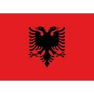 Vlag Albanie vlag