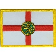 Patch Alderney vlag patch