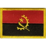 Patch Angola vlag patch