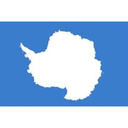 Vlag Antarctica Zuidpool vlag