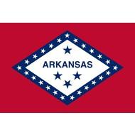 Vlag Arkansas