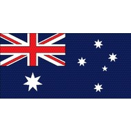 Stok- / zwaai-vlag Australia hand stok