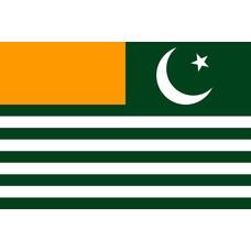 Vlag Azad Kasjmir Kashmir vlag