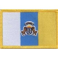 Patch Canary Islands flag  patch