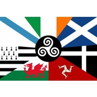 Vlag Celtic Nations vlag