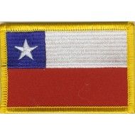 Patch Chile Chili vlag