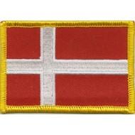 Patch Denemarken Denmark vlag Patch