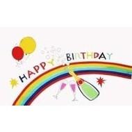 Vlag Happy Birthday