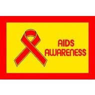Vlag Aids Awareness vlag