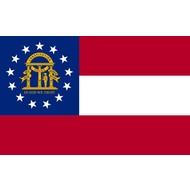 Vlag Georgia State vlag