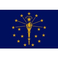Vlag Indiana State