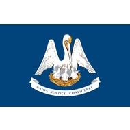 Vlag Louisiana state vlag