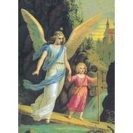 Vlag Angel with Girl