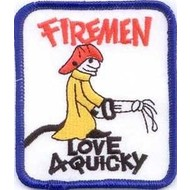 Patch Brandweer Fireman vlag patch