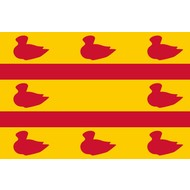 Vlag Cuijk Gemeentevlag
