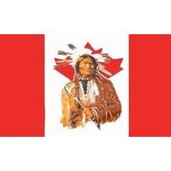 Vlag Canada Indian