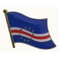 Speldje Cape Verde flag lapel pin
